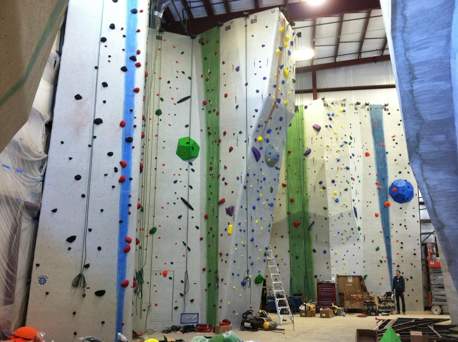 how to start a rock climbing gym